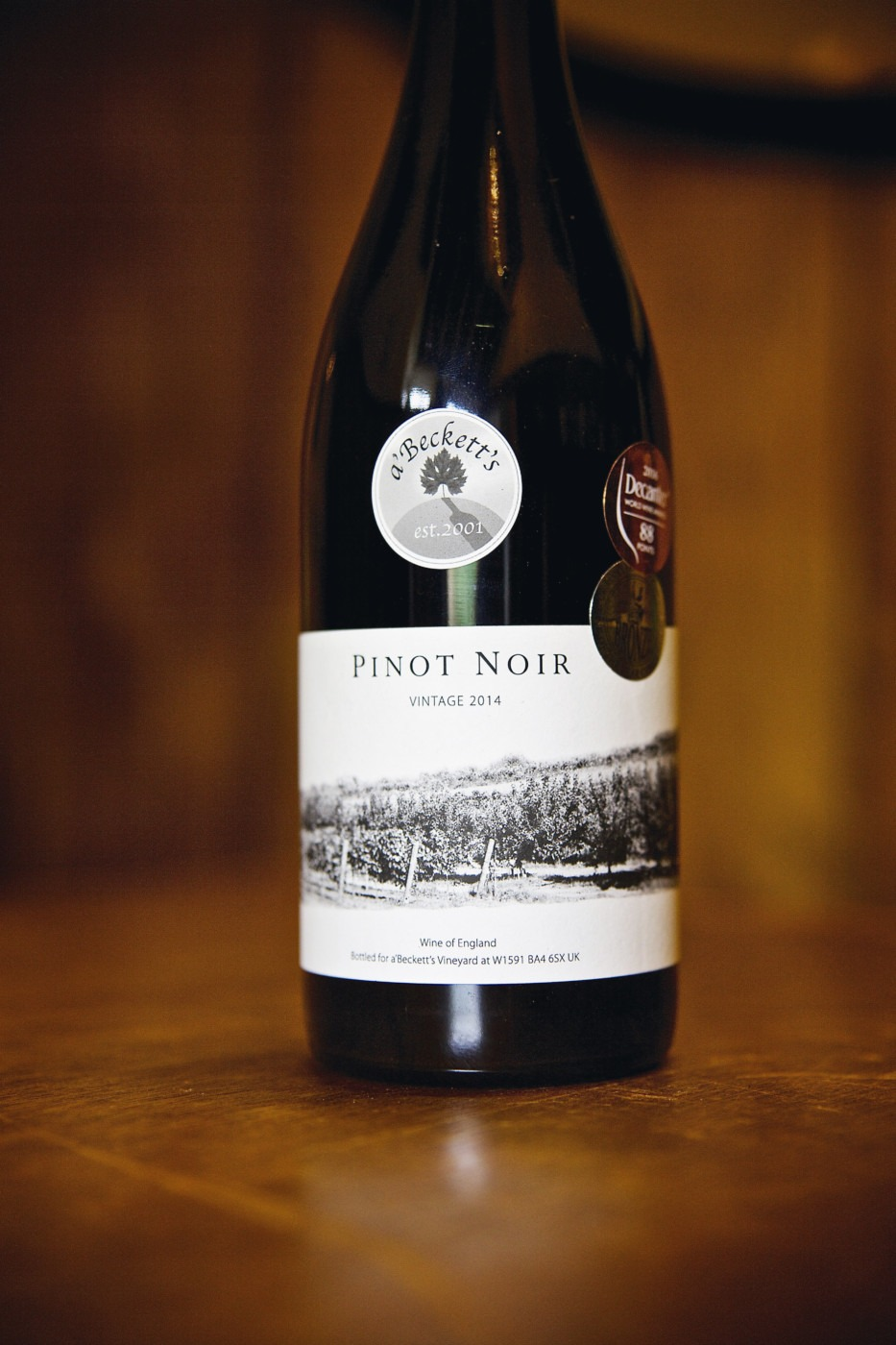 Pinot noir 2014 a 39 beckett 39 s vineyard for Best pinot noir in the world
